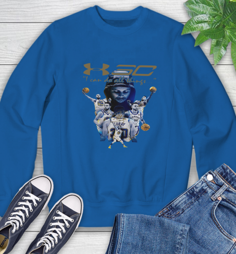 Stephen Curry I Can Do All Things Signature Sweatshirt 9