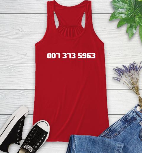 007 373 shirt Racerback Tank 5