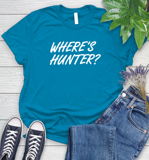 Where Is Hunter Women's T-Shirt 10