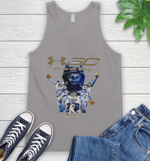 Stephen Curry I Can Do All Things Signature Tank Top 3
