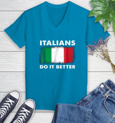 Italians Do It Better Women's V-Neck T-Shirt 7