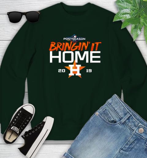 Bringing It Home Astros Youth Sweatshirt 9