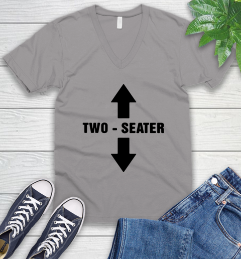 Two Seater V-Neck T-Shirt 2