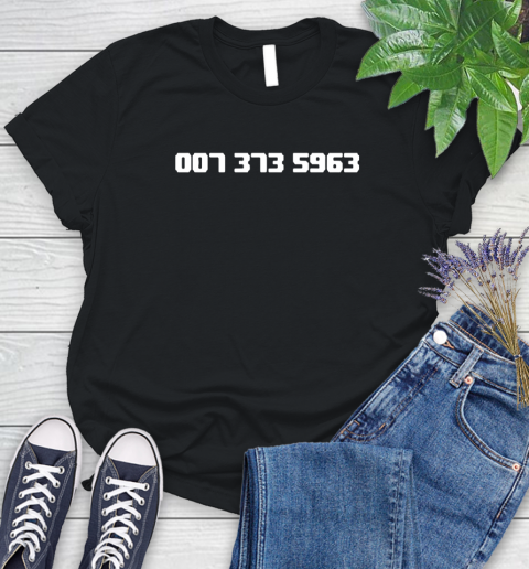 007 373 shirt Women's T-Shirt