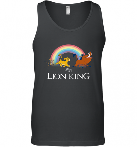 Disney Lion King Classic Hakuna Matata LGBT Flag Men's Tank Top