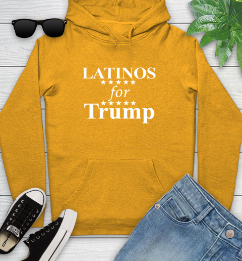 Latinos For Trump Youth Hoodie 2