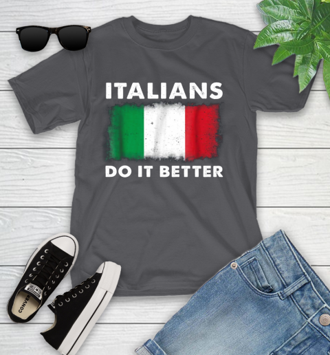 Italians Do It Better Youth T-Shirt 6