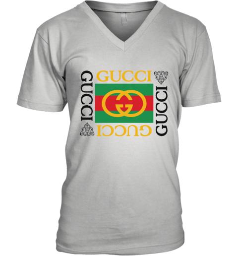 Gucci Lion Limited Edition V-Neck T-Shirt