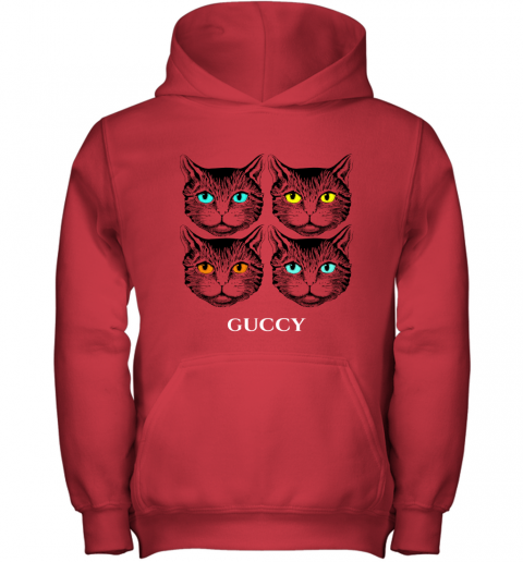 Gucci Black Cat Secret Unisex Youth Hoodie