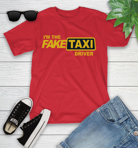 I am the Fake taxi driver Youth T-Shirt 10