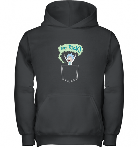RICK AND MORTY TINY RICK POCKET Youth Hoodie