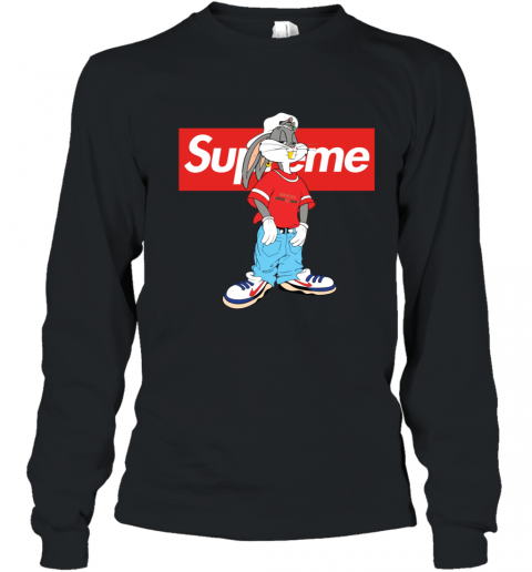 Bugs Bunny Supreme Youth Long Sleeve T-Shirt