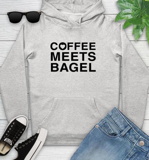 Coffee Meets Bagel Black Youth Hoodie