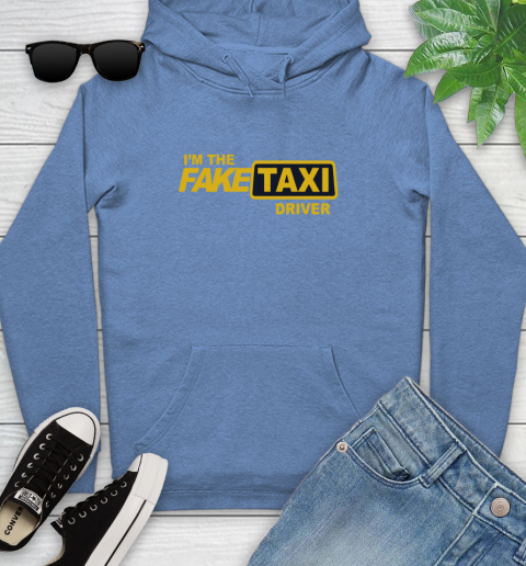 I am the Fake taxi driver Youth Hoodie 12