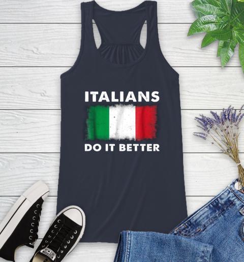 Italians Do It Better Racerback Tank 10