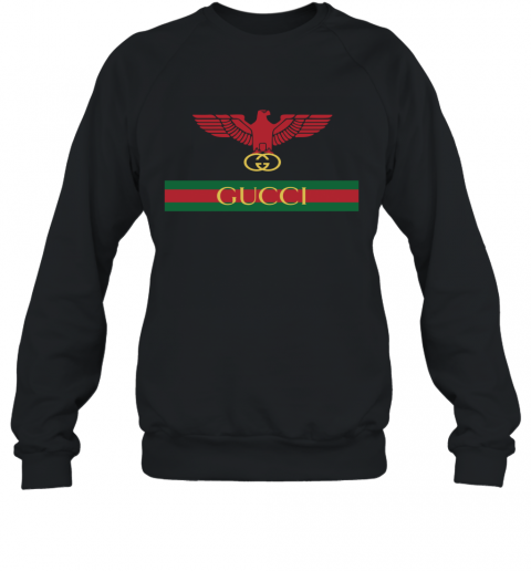 Gucci Menswear Logo Eagle Fire Sweatshirt
