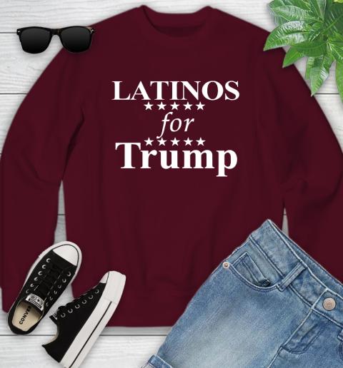 Latinos For Trump Youth Sweatshirt 4