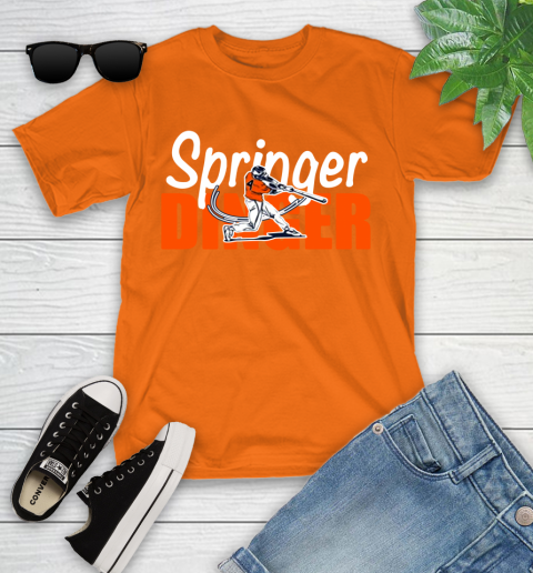 Houston Springer Dinger Fan Shirt Youth T-Shirt 9