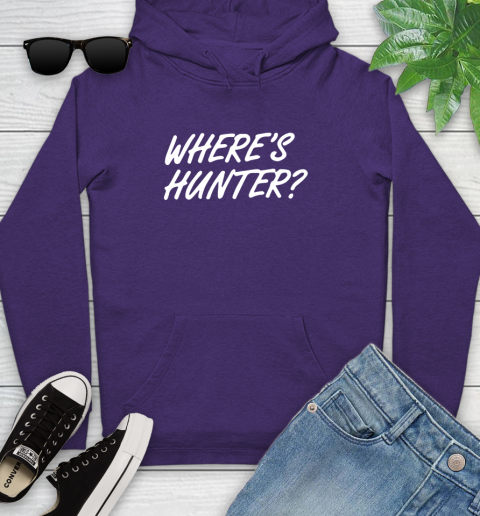 Where Is Hunter Youth Hoodie 5