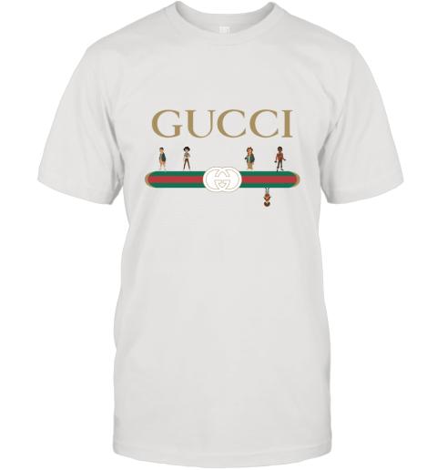 Stranger Things Upside Down Gucci Logo T-Shirt
