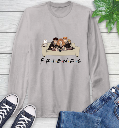 Harry Potter Ron And Hermione Friends Shirt Long Sleeve T-Shirt 11