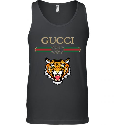 Gucci Logo With Tiger Tank Top