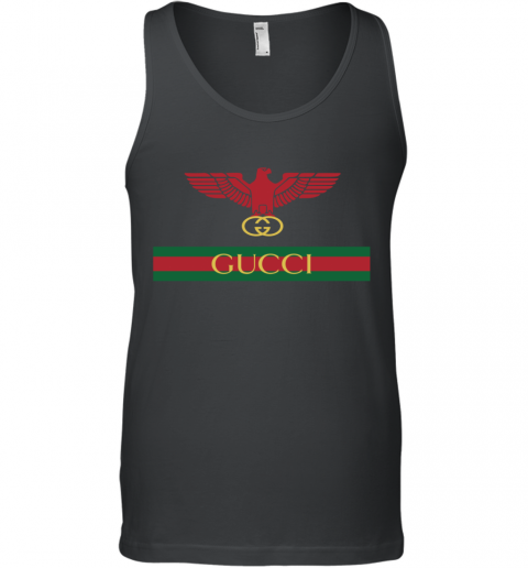 Gucci Menswear Logo Eagle Fire Tank Top