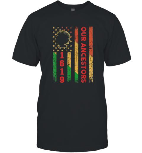 1619 Our Ancestors African American Black History Vintage shirt T-Shirt