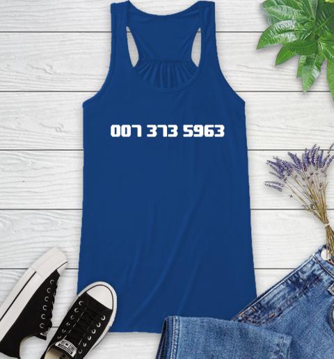 007 373 shirt Racerback Tank 8