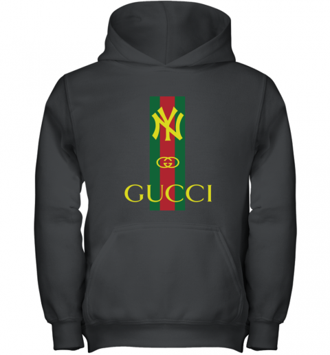Gucci Logo New York Yankees Youth Hoodie