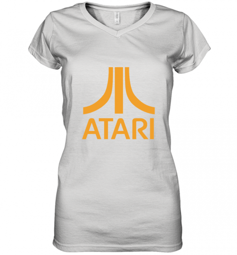 Atari Logo Women's V-Neck T-Shirt