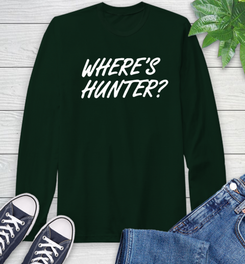Where Is Hunter Long Sleeve T-Shirt 7