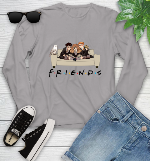 Harry Potter Ron And Hermione Friends Shirt Youth Long Sleeve 3