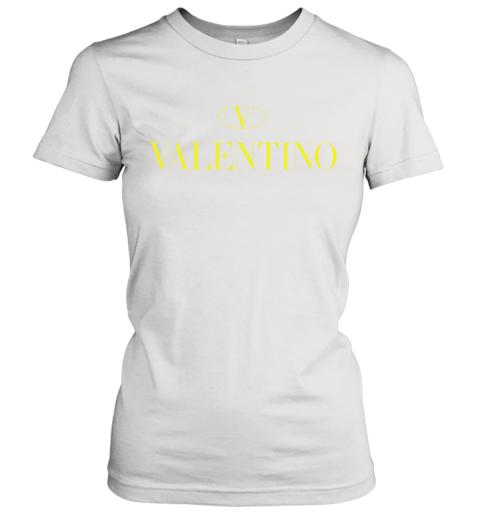 VLTN Valentino Logo Gold Premium Unisex Women's T-Shirt