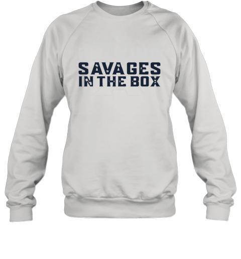 buy popular 8dd5d d5f5d Fucking Savages In The Box Yankees Sweatshirt