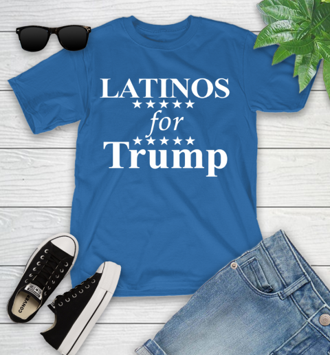 Latinos For Trump Youth T-Shirt 12