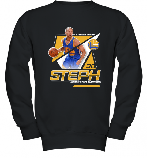 best service a9527 be8fd Stephen Curry 30 Youth Sweatshirt