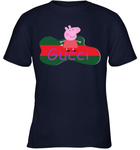Peppa Pig Gucci Shirt Design Youth T-Shirt