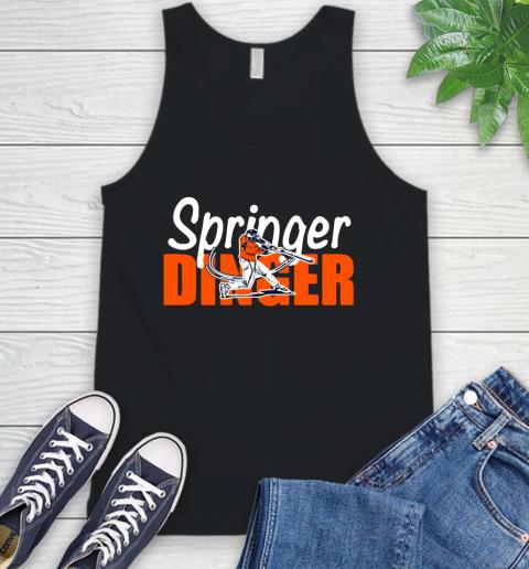 Houston Springer Dinger Fan Shirt Tank Top
