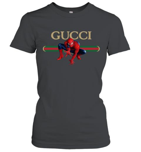 Gucci Logo Spiderman Women's T-Shirt