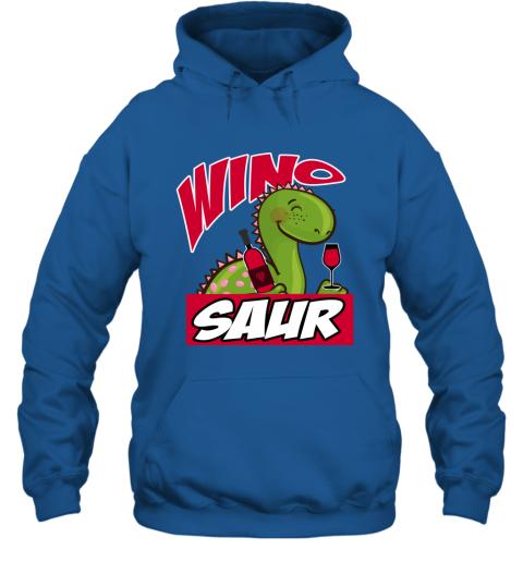 Wino Saur Dinosaur Shirt Funny Birthday Gift Hoodie