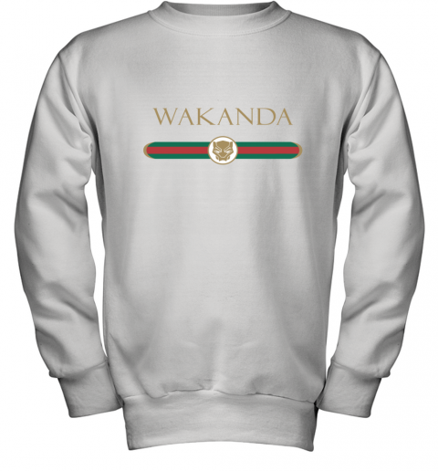 Black Panther Wakanda Gucci Youth Sweatshirt