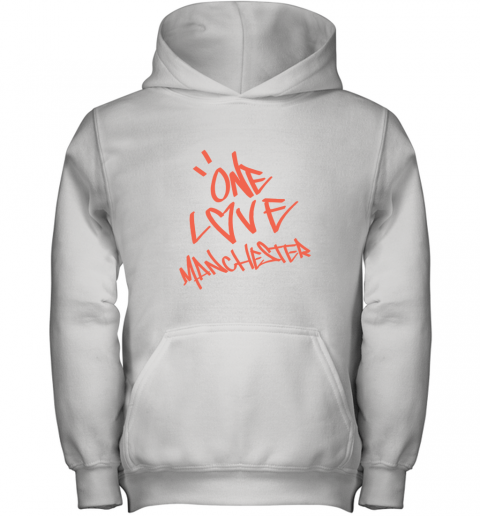 ARIANA GRANDE  ONE LOVE MANCHESTER Youth Hoodie