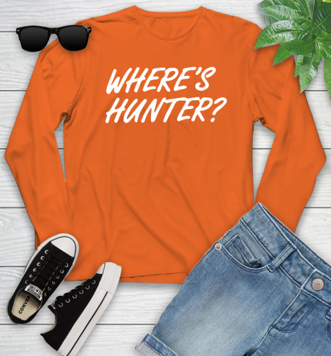 Where Is Hunter Youth Long Sleeve 3