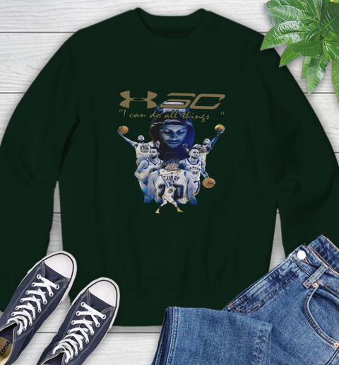 Stephen Curry I Can Do All Things Signature Sweatshirt 12