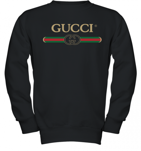 Gucci Shirt Logo Youth Sweatshirt