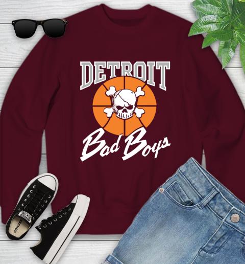 Detroit Bad Boys Youth Sweatshirt 4