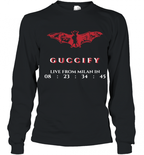 Gucci Bat Limited Edition Youth Long Sleeve T-Shirt