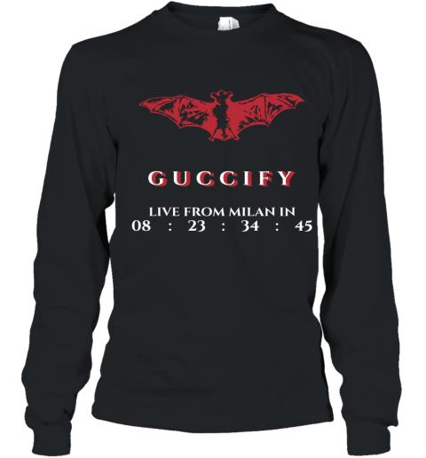 Gucci Bat Limited Edition Youth Long Sleeve T-Shirt