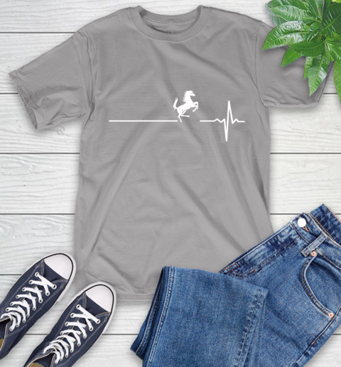 Horse Riding This Is How My Heart Beats T-Shirt 6